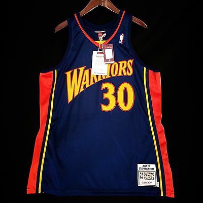 finest selection 8559a f326a 100% AUTHENTIC STEPHEN Curry Mitchell & Ness Warriors Jersey ...