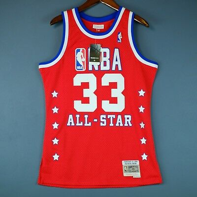 100% Authentic Patrick Ewing Mitchell Ness 89 All Star Swingman Jersey Size  M 40 9fcc5994a