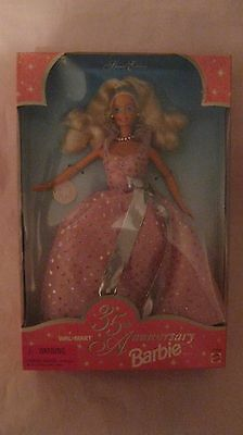 Barbie Doll 35th Anniversary Walmart Special Edition From Mattel 1997 NEW t202