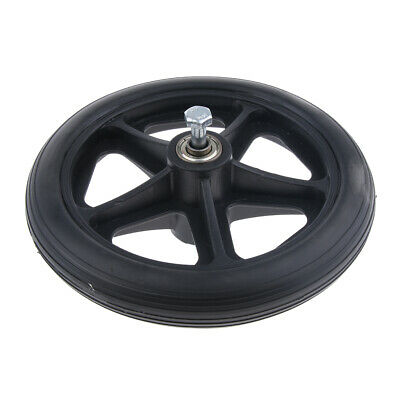 Durable Wheelchair Front Castor Wheels Replacement Part Tool 6 7 8 inch