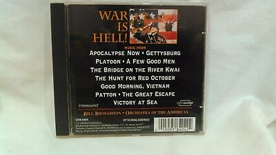 War Is Hell! The Magic Of The Movies Orchestra Of The America's cd4032
