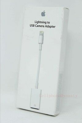 Apple Lightning to USB Camera Adapter - A1440 MD821AM/A - NEW Genuine !!!