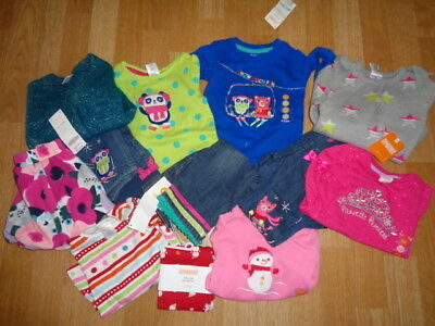 NWT Gymboree Cozy Cutie Color Happy outfit set lot + size 12-18 12 piece $300