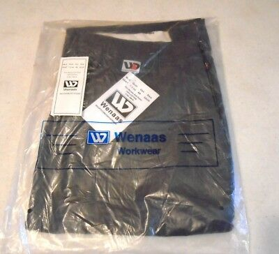 WENAAS Anti-flame FR Fire Resistant Gray Work Pants Mens Size 32 Unhemmed NWT's