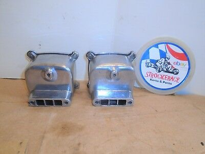 VINTAGE GO KART CHROME McCULLOCH EXHAUST BOX MUFFLER MC10 EARLY SAW CART PART