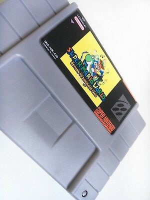 Super Mario World Return to Dinosaur Land - SNES
