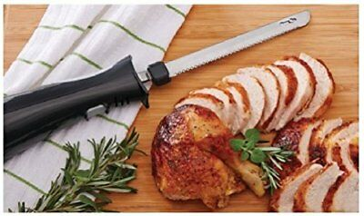 Electric Kitchen Knife Stainless Steel Blade For Carving Cutting And Slicing