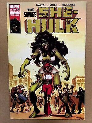 Savage She-Hulk #22 (NM) MARVEL ZOMBIES VARIANT Ed McGuiness / #1 Homage CVR