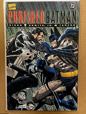 PUNISHER / BATMAN #1 (NM) John Romita Jr Chuck Dixon JOKER ONE-SHOT 1994 DC
