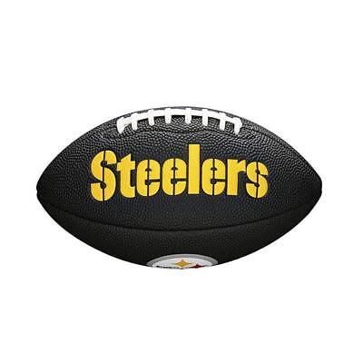 Pittsburgh Steelers Wilson NFL Mini Football Ball - Black