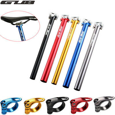 GUB Aluminium Bike Seatpost Tube27.2/30.9/31.6*385mm Bicycle Seat post Clamp