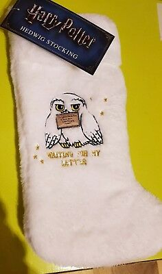 💕💖 Official Harry Potter HEDWIG Christmas Furry Stocking 💖💕