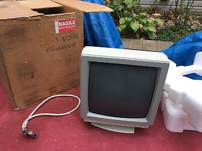 Computer Monitor Nec Jb Vtg Atari Gaming New Nos 1990s Jb-1611 Apple Desktop