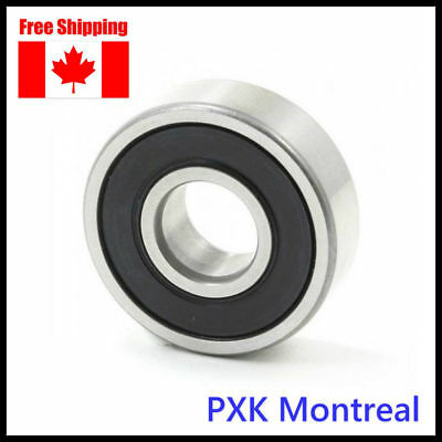 6203-RZ/2RZ Sealed Deep Groove Ball Bearing 17x40x12mm