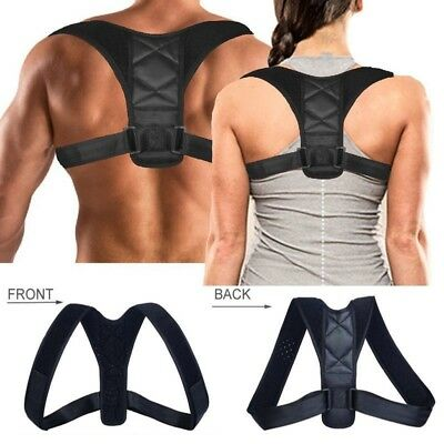 Body Wellness Posture Corrector Back Straight Shoulders Brace Strap Correct 1pc