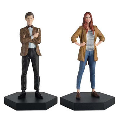 Doctor Who Figure Collection Companion Set #01 - Eleventh Doctor & Amy Pond