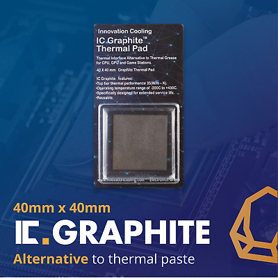 IC Graphite Thermal Pad 40x40mm – Alternative To Paste