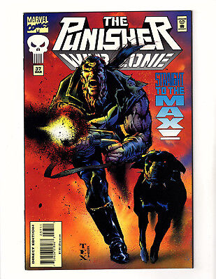 The Punisher: War Zone #37 (1995, Marvel) NM- Mark Texeira Cover & Art