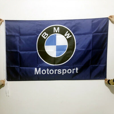 Blue BMW Motorsport Coupe Alpina Racing Cars Flag Banner3x5ft 2Grommets/131