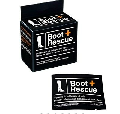 NIP NEW BOOT RESCUE Cleaning wipes-Removes dirt & salt-10 wipes