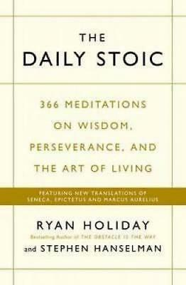 NEW The Daily Stoic By Ryan Holiday Paperback Free Shipping