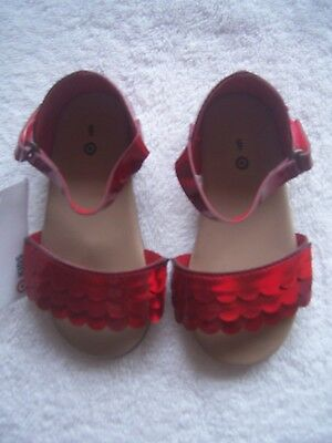 BNWT Girl's Target Red Sandals Size 6