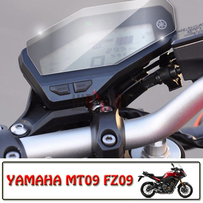 Motor Cluster Scratch Protection Film Screen Protector for YAMAHA MT-09 FZ-09
