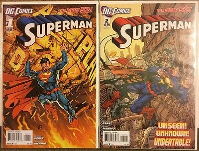 DC COMICS SUPERMAN VOL 3 1 2 NEW 52 what price tomorrow?