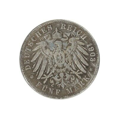 1903 Five mark Gedenkmünze NEU 1904 Panama deutsches reich