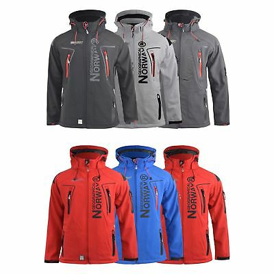 Norway Techno Sport Outdoor Coat Softshell Geographical Jacket Mens qERw6H8x