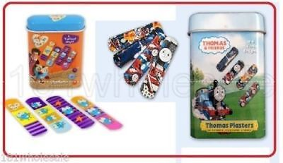 ❤ Brand New Giggle & Hoot Thomas & Friends Plasters 20 Sterile Adhesive Strips ❤