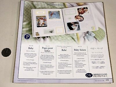 Creative Memories Old Size 15 Sheets (30 Pages) Baby