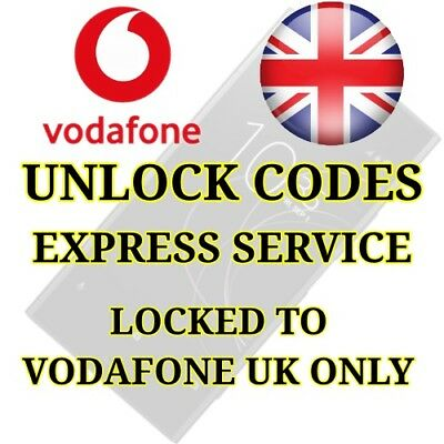 Unlock Unlocking Code Samsung Note 2 Note 3 Note 4 Note 8 S7 Edge S8 Vodafone UK