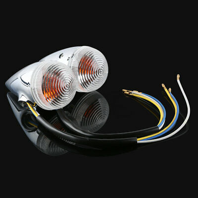 Clear Bullet Turn Signal Light For Yamaha XV1900 XV-1900 XV 1900 2006-2013 11 12