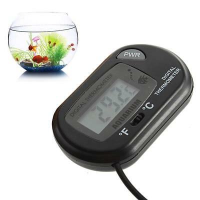 LCD Digital Fish Tank Reptile Aquarium Water Meter Thermomètre Température AT