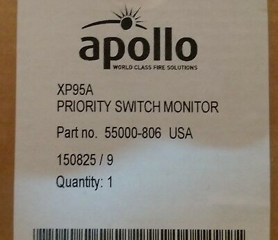 LOT OF 3 Apollo xp95a 55000-806 Priority Switch Monitor Module NEW
