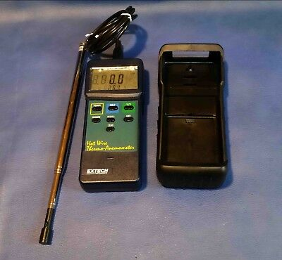 EXTECH Hot Wire Thermo-Anemometer model 407123