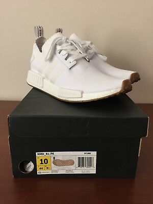 952c4e7fe New Men s Adidas Originals Nmd R1 Boost Shoes  D96635  Cloud White  white