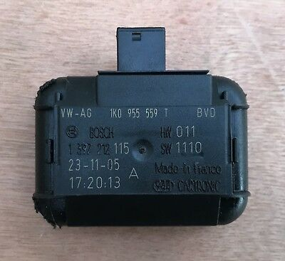VW Rain Light Sensor Unit 1k0 955 559 T Mk5 Golf Passat Audi A3
