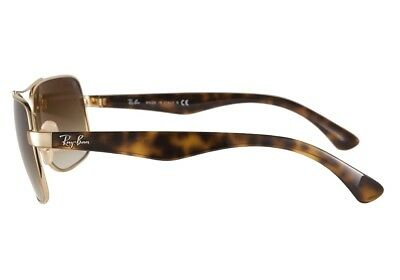 100%GENUINE RAY BAN CARAVAN RB 3483 001/51 Gold Tortoise Light Brown Gradient