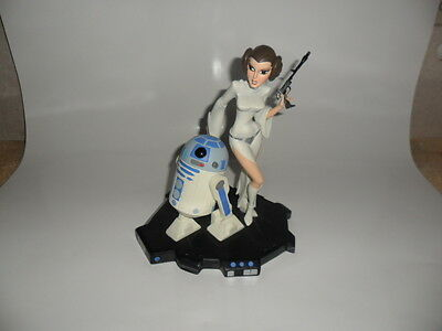 Star Wars - Animated Maquette Princess Leia & R2-D2