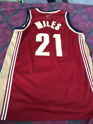 competitive price f91e1 f0cd4 DARIUS MILES CLEVELAND Cavs Cavaliers Nike Jersey Sewn Pro Team Edition L+2