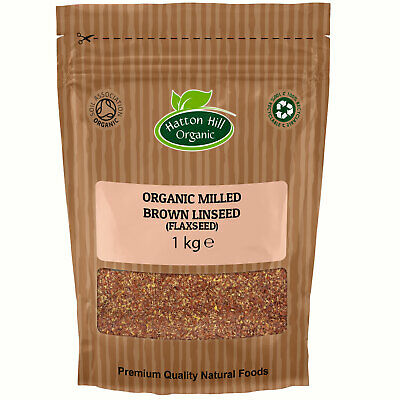 Organic Milled Brown Linseed (Ground Flax Seed) Certified Organic