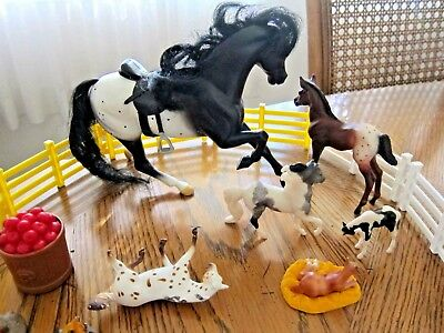7 Breyer Horse Pony Stablemates Classic Model Farm Animal Toy & Access Mixed Lot