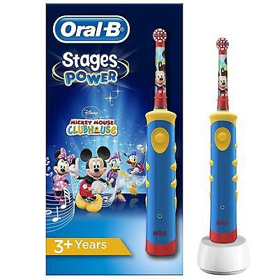 Oral-B Stages Power Kids Electric Toothbrush Featuring Disney Mickey