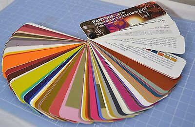 Pantone View Inspiration for Interiors 2008 Color Trend Guide Swatch Fan Deck