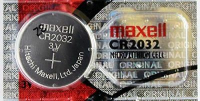 2PC Maxell CR2032 Coin Cell Battery Lithium 3V - Made in Japan