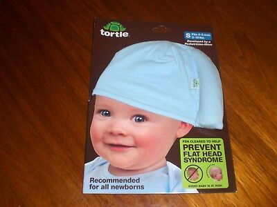 NEW BABY BLUE TORTLE FOR FLAT HEAD SYNDROME - SIZE S 0-2 months