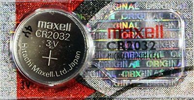 MAXELL 1 Pcs CR2032 CR 2032 - 3V Lithium Button Cell Battery Batteries - NEW