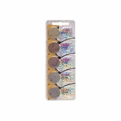 MAXELL 5 Pcs CR2016 CR 2016 - 3V Lithium Button Cell Battery Batteries - NEW